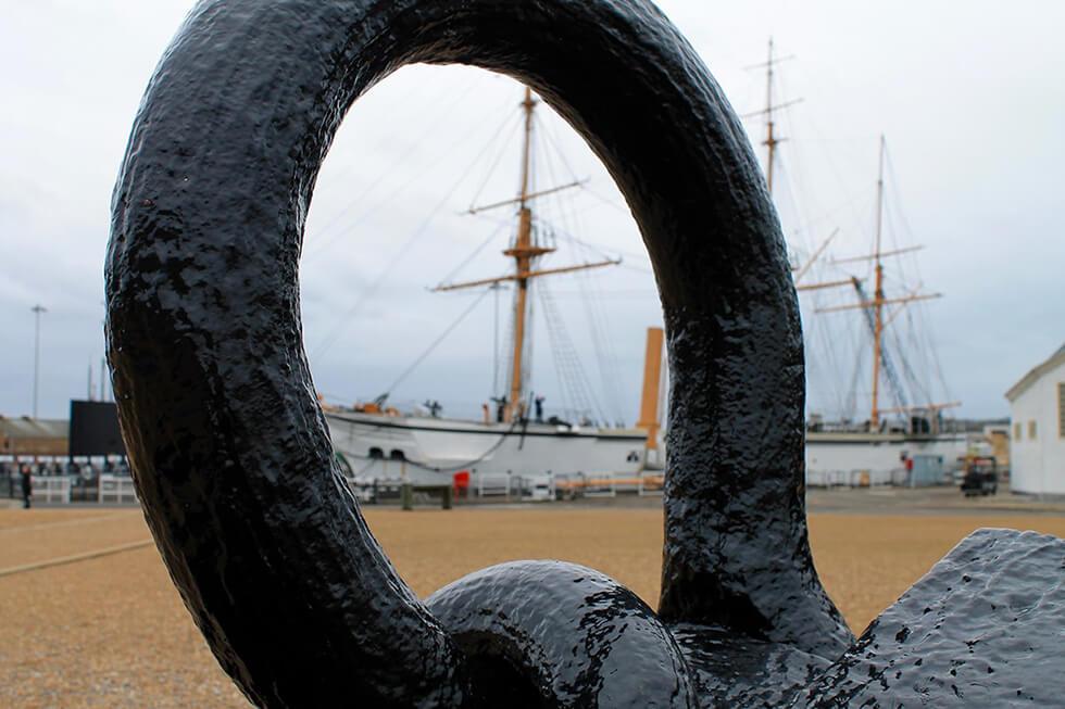 The HMS Gannet